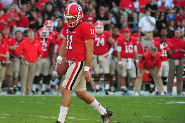 Aaron Murray: Georgia QB Will Falter Under Weight of SEC Championship Dreams