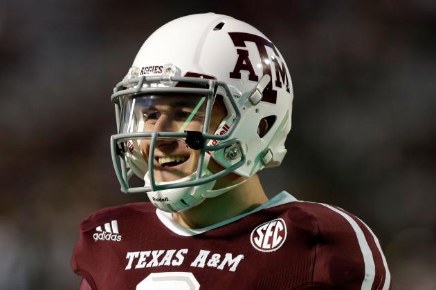 Texas A&M Football: Johnny 'Football' Manziel Speaks with Media for First Time