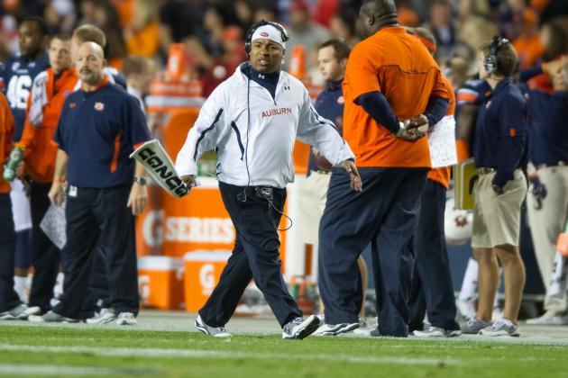 Auburn Football: What Message Did Auburn Send by Keeping Trooper Taylor Around?