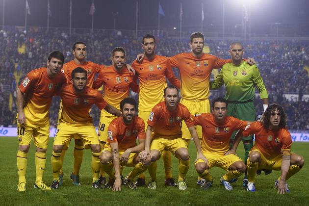 David Villa's Brace vs. Alaves Sends Barcelona to the Copa Del Rey Round of 16