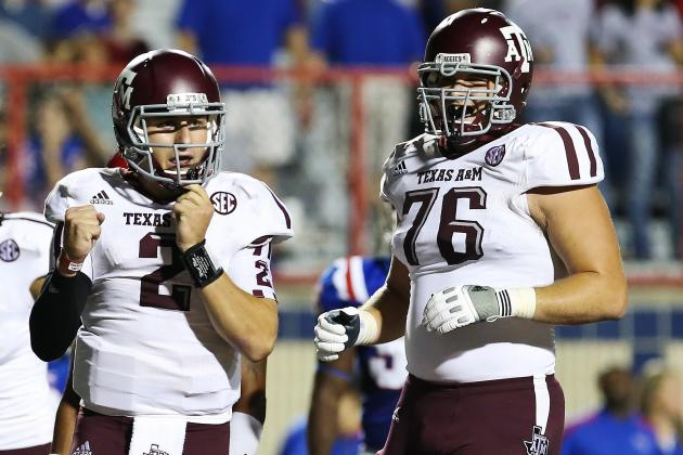 Texas A&M OT Luke Joeckel Wins 2012 Outland Trophy