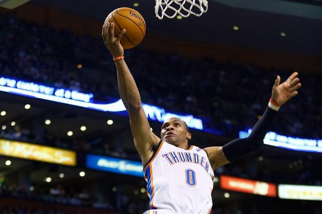 James Harden's Departure Forcing Russell Westbrook to Become True Floor General