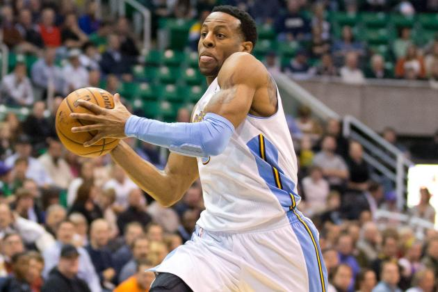 Video: Andre Iguodala Throws Down Emphatic Dunk
