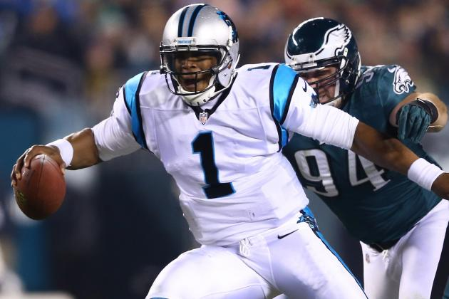 Cam Newton Makes History vs. Eagles on MNF