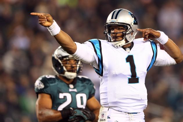 Cam Newton: How Quarterback Broke Out of Slump against Eagles