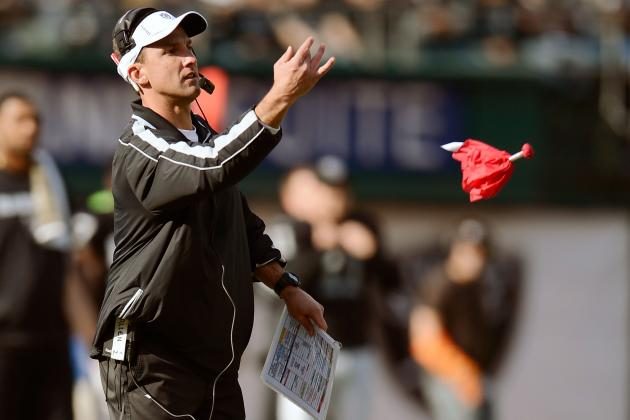 Oakland Raiders: How Short Should the Leash on Dennis Allen Be?