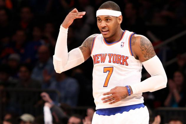 How Carmelo Anthony Can Shock the World, Win His First MVP Award