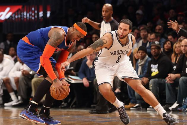 Deron Williams Wins NBA Player of the Night After Relentless Effort vs. Knicks