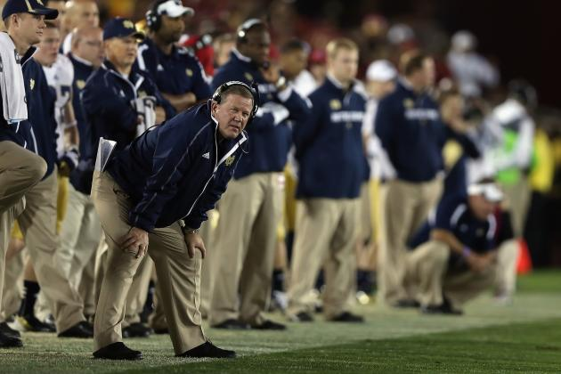Rise to No. 1, BCS Title Game Means Notre Dame Will Never Join Conference