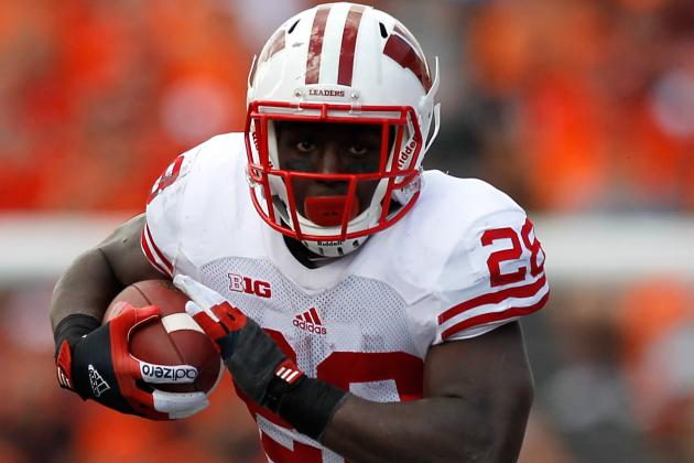 Wisconsin RB Montee Ball Wins 2012 Doak Walker Award