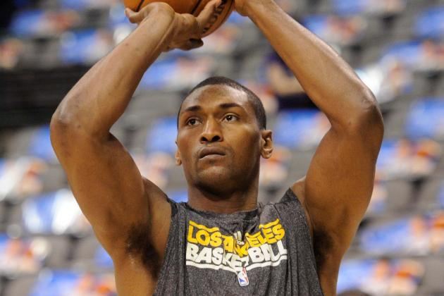 Metta World Peace Wants You to Buy a Cell Phone Watch