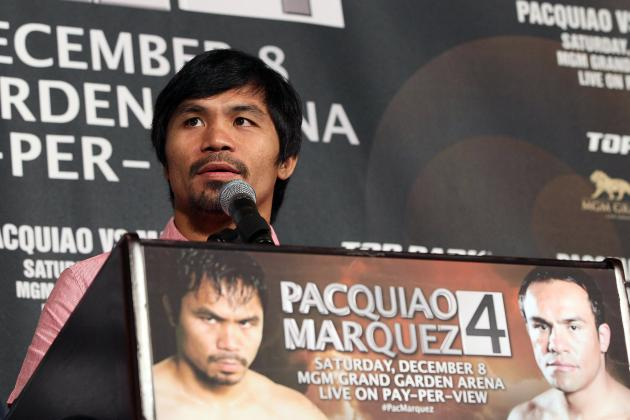 Pacquiao vs. Marquez 4 Fight Time: Essential Pacman vs. Dinamita Coverage Guide