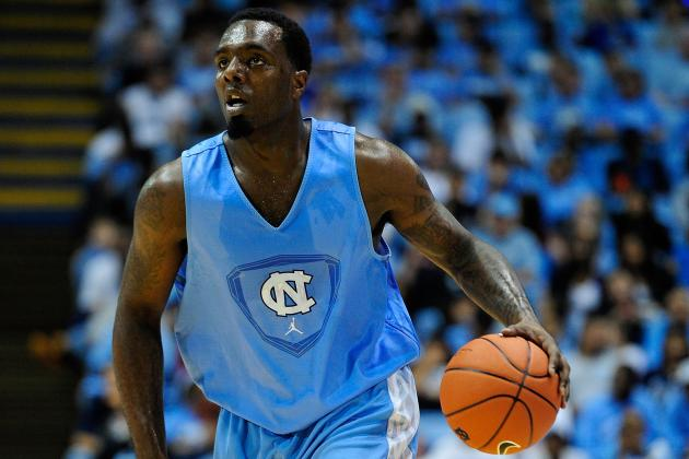 UNC's Hairston (Knee) Won't Play vs. Indiana