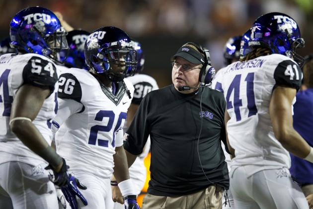 TCU's First Season in League Boosts Big 12's Bowl Credentials