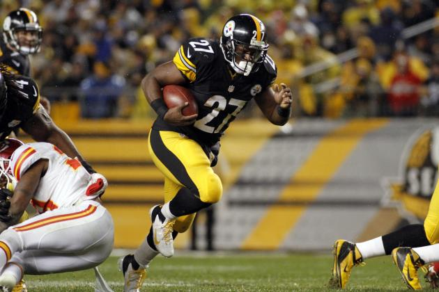 Jonathan Dwyer: Fantasy Outlook for Steelers RB Replacing Rashard Mendenhall