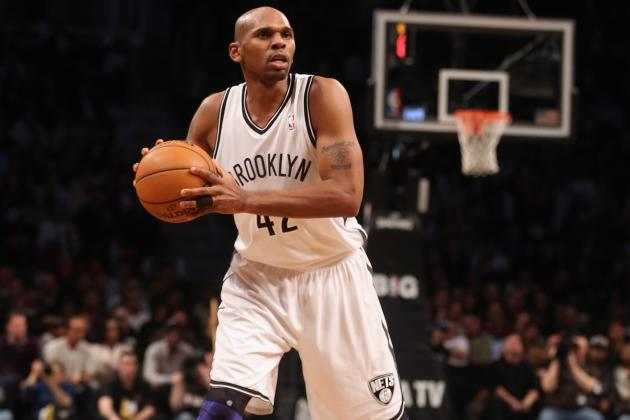 Jerry Stackhouse's Absurd Shot Chart and +/- Numbers
