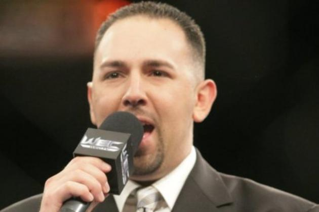 Former WEC Announcer Joe Martinez to Debut at UFC on FX 6 Next Month