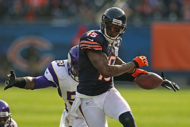 Brandon Marshall's Unique Stat Line from Chicago Bears' Win over Vikings