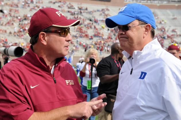 Duke's Cutcliffe Named 2012 ACC Coach of the Year
