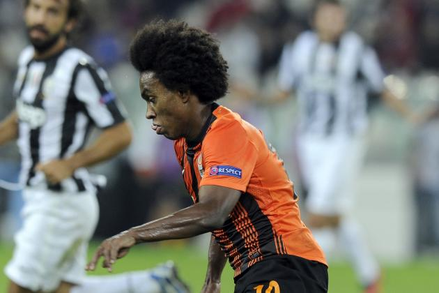Chelsea Transfer News: Shakhtar's Willian Not Realistic Target in January