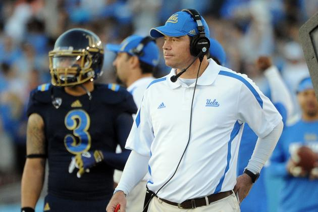 UCLA vs Stanford: Why Jim Mora Should Get Some Coach of the Year Love