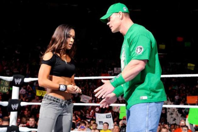 Where Is the John Cena/A.J. Lee Angle Going?