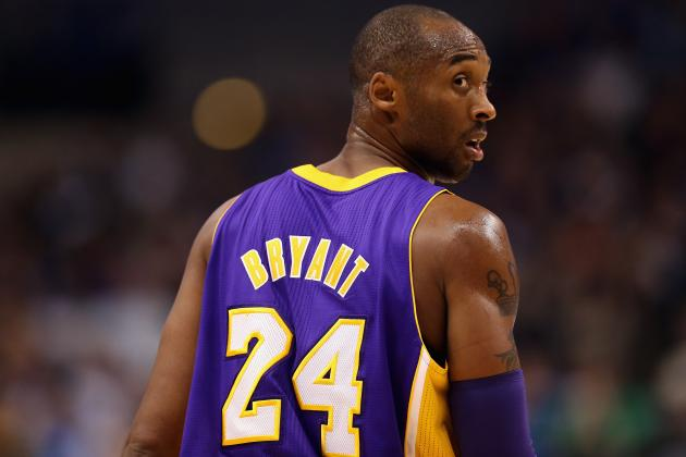 Kobe Bryant Has Flu, Is Game-Time Decision Tuesday vs. Pacers