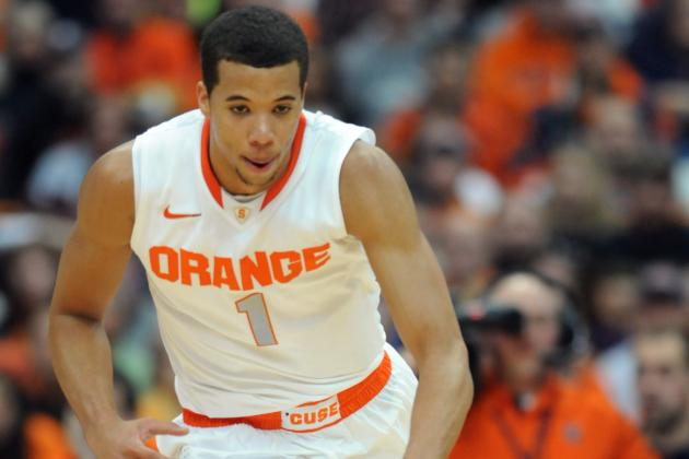 Michael Carter-Williams Had 13 Assists in Syracuse's Win over Colgate