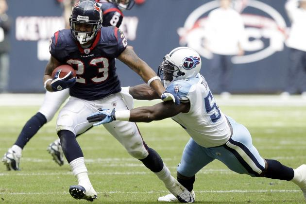 Week 13 Fantasy Football: Top 40 Tailbacks in Standard-Scoring Leagues