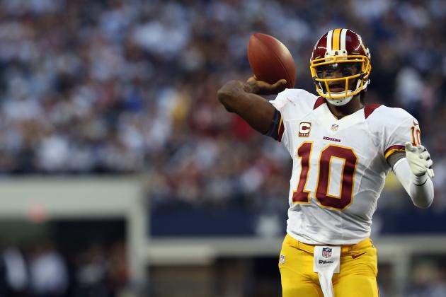 Robert Griffin III: Fantasy Expectations for Washington Redskins QB vs. Giants