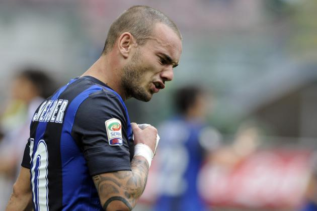 AC Milan in Bid to Beat Manchester United to Wesley Sneijder's Signature