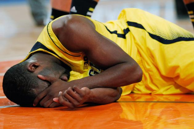 Michigan Guard Tim Hardaway Jr. Puts Head Hit Behind Him