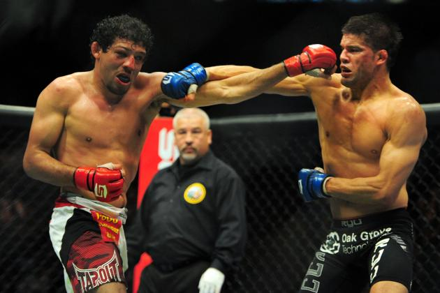 With Gilbert Melendez off of Final Strikeforce Card, Masvidal vs. Healy Likely