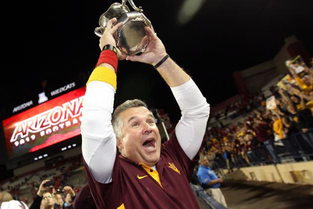 Todd Graham: UA Win 'special,' Pleased with ASU's Progress in Year One