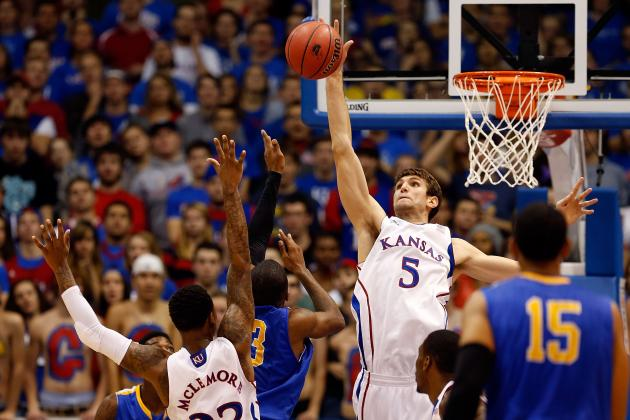 Jeff Withey Records Triple-Double, Helps KU Top San Jose State