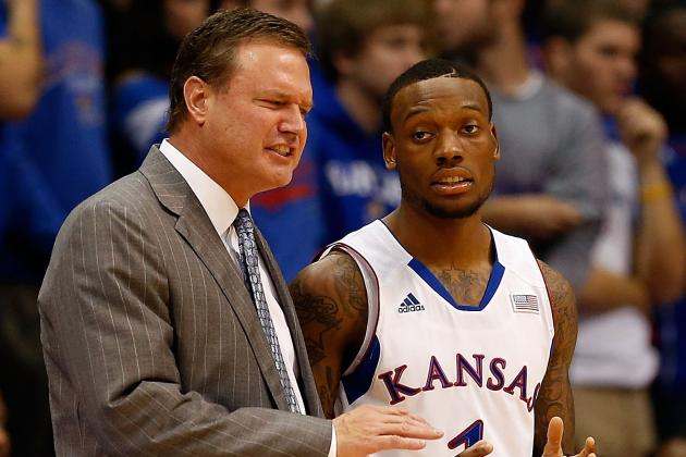 Bill Self Not Happy with Team's Guard Play
