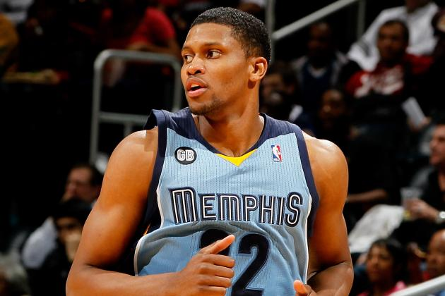 Debate: Should Memphis Listen to Any Rudy Gay Trade Offers After the 10-2 Start?