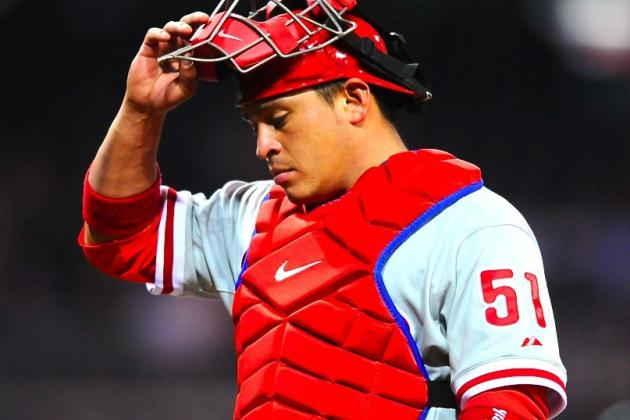 Phillies Catcher Carlos Ruiz Suspended 25 Games for Positive Drug Test