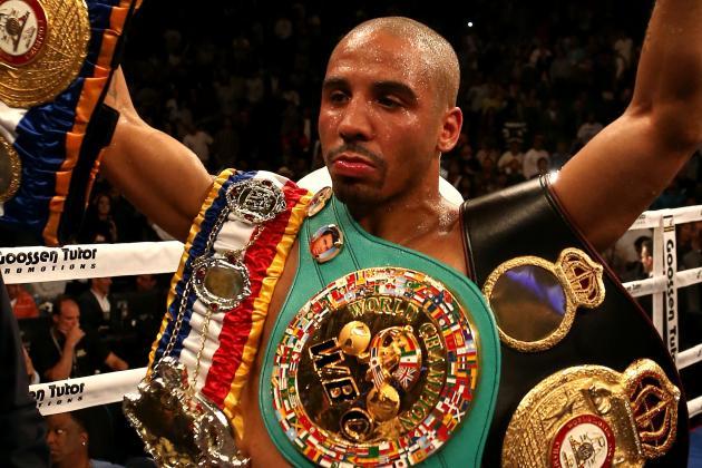 Ward to Put 168-Pound Title on Line vs. Pavlik