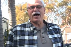 Phil Jackson Says His Peace (Video)