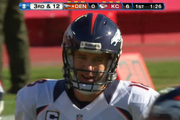 Highlighting Chiefs' Methods of Frustrating Peyton Manning and How QB Adjusted