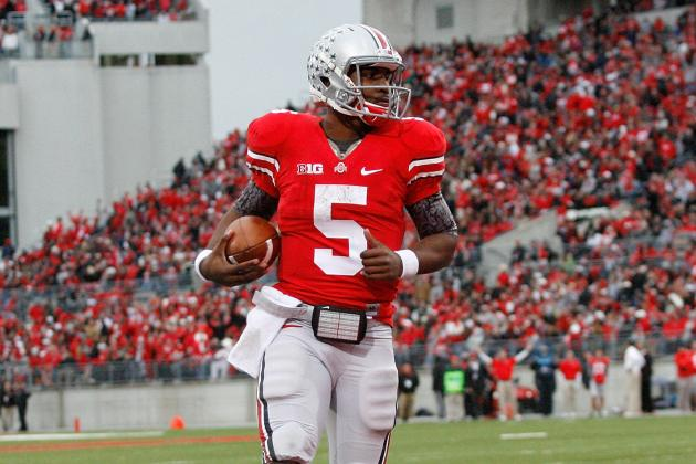 Braxton Miller Named Big Ten Offensive Player of the Year