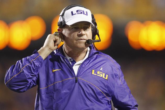 Arkansas Reportedly Makes 5-Year Offer to LSU Coach Les Miles