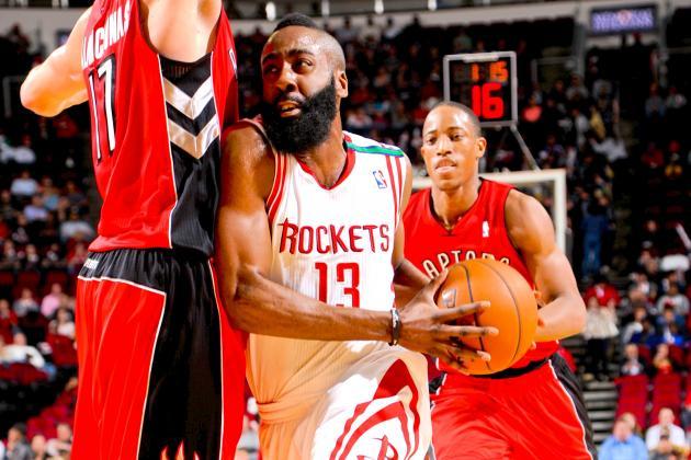 Toronto Raptors vs. Houston Rockets: Live Score, Results and Game Highlights