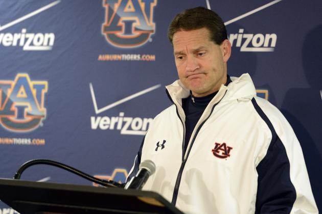 Auburn Football: Tigers Made Right Choice Firing Gene Chizik