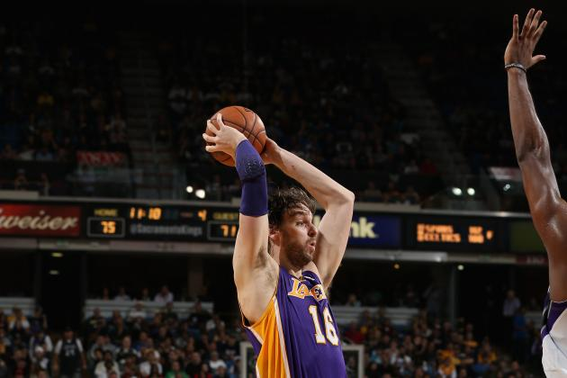 How Pau Gasol's Knee Injury Impacts the Los Angeles Lakers