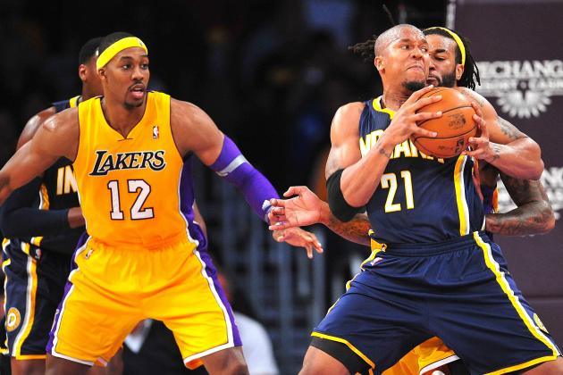 Indiana Pacers vs. Los Angeles Lakers: Live Score, Results and  Game Highlights