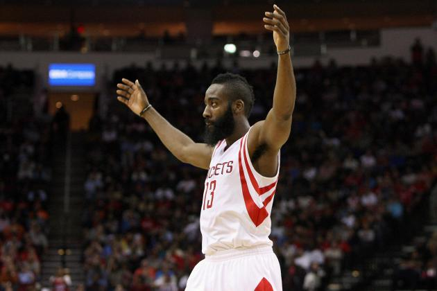 James Harden and the Top-Scoring Fantasy SGs in the NBA
