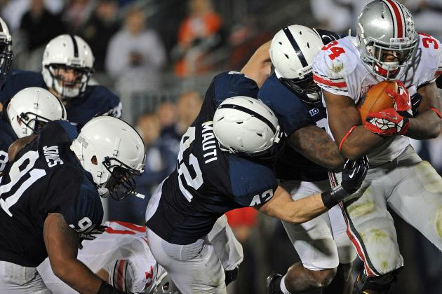 Ineligible but Not Forgotten: Ohio St., Penn St. Ready to Build off 2012 Success