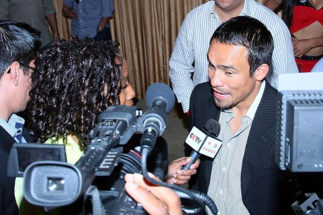 Juan Manuel Marquez Has Unkind Words for Judges